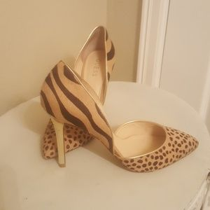 Guess Leopard Print Heels (pre-owned)